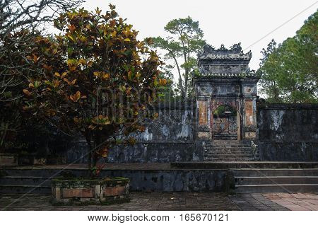 Tomb And Gardens Of Tu Duc Emperor In Hue, Vietnam - A Unesco World Heritage Site