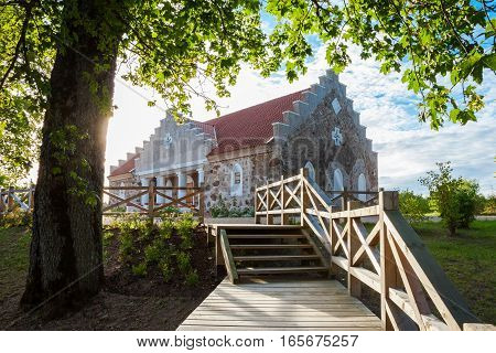 Building Of Turaida Parish Magazine Near Sigulda City, Latvia