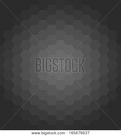 Geometric vector dark pattern. Background with flow effect. Abstract geometric ornament