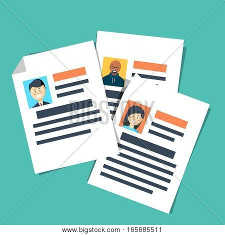 curriculum vitae isolated icon. Find person for job opportunity, vector illustration design. Business curriculum vitae icon vector illustration graphic design