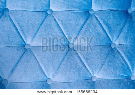 blue leather texture with rivets with place for text