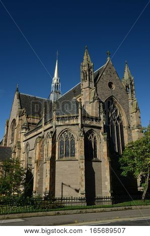 An exterior view of the Cathedral in Perth