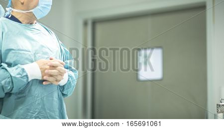 Surgeon In Hospital Surgery
