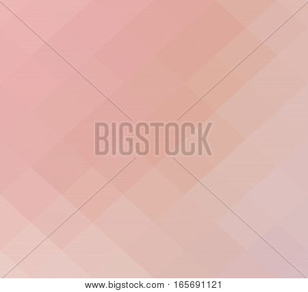 Pink geometric rumpled background. Low poly style gradient illustration. Graphic background.