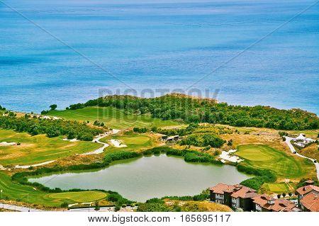 Golf Course on the Black Sea Shore