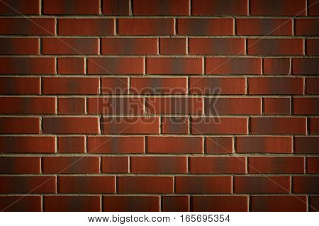 Image of the Red Brick Absract Background