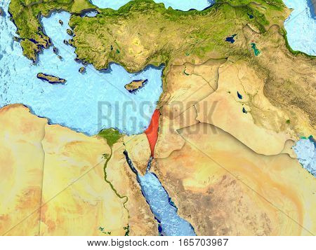 Israel In Red
