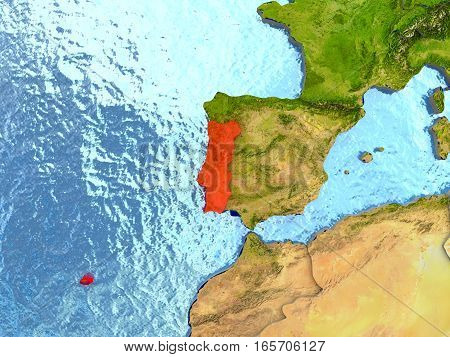 Portugal In Red