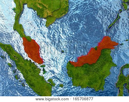 Malaysia In Red