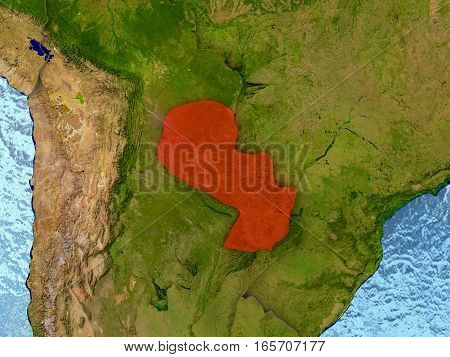 Paraguay In Red