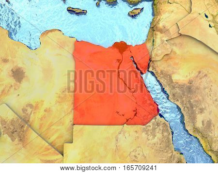 Egypt In Red