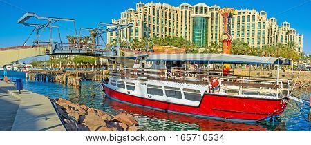 The Pleasure Boat In Marina
