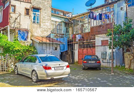 The Dilapidated Housing In Batumi