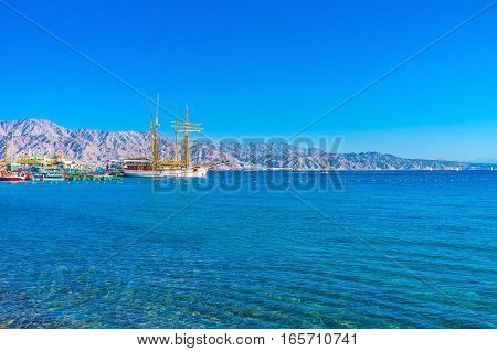 The Yachts Of Eilat
