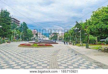 The Seaside Park Of Batumi