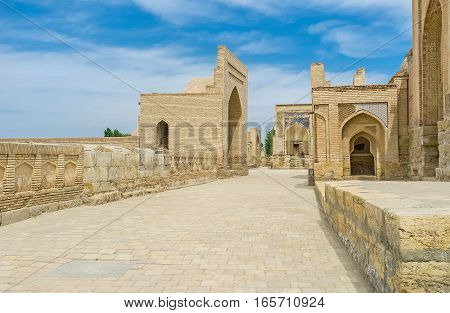 The Mausoleums Of Chor-bakr Complex