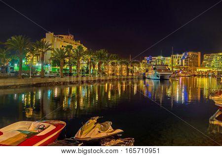 The Night In Eilat