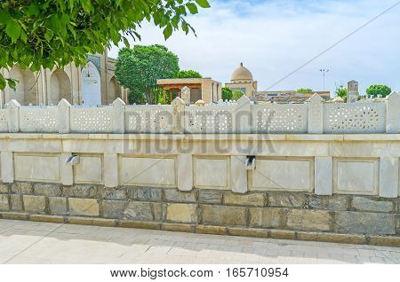The Carved Stone Fence