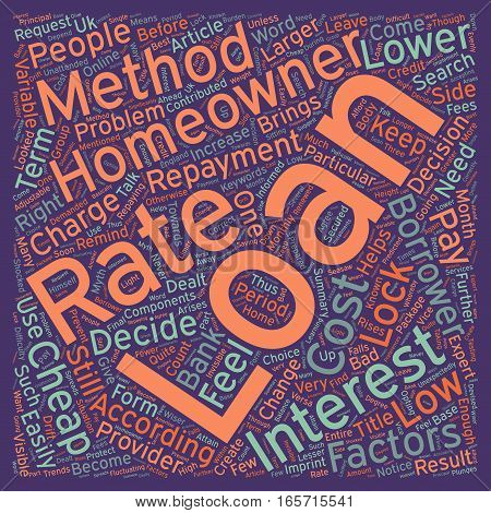 Cheap homeowner loans create your own package text background wordcloud concept