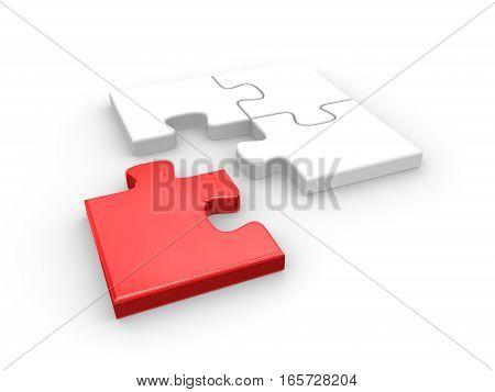 Last Jigsaw Puzzle Piece