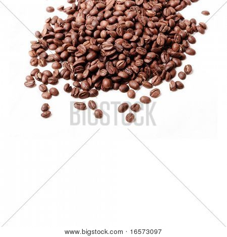 fresh coffee beans background