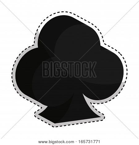 poker ace isolated icon vector illustration design