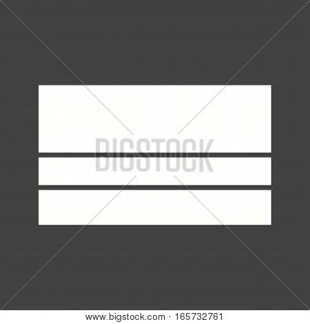 Colombia, flag, national icon vector image. Can also be used for flags.