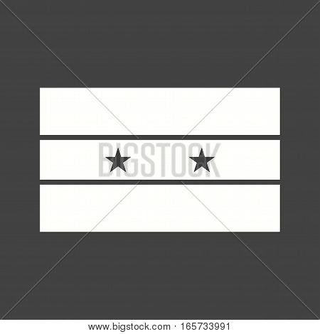 Syria, flag, national icon vector image. Can also be used for flags.