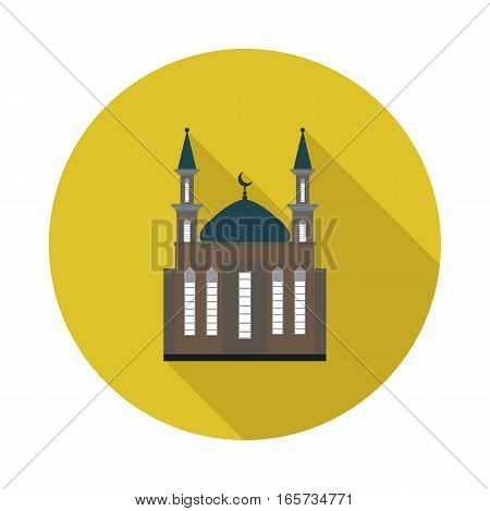 flat icon mosque in vector format eps10
