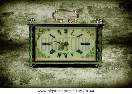alte Uhr-Gesicht. Jahrgang Bild
