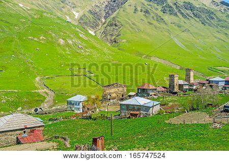 The Landmark Of Svaneti