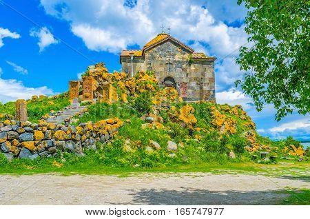 The Monastery In Armenia