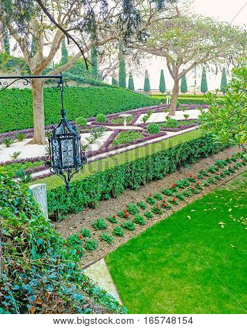 The Landscaping Of Bahai Garden