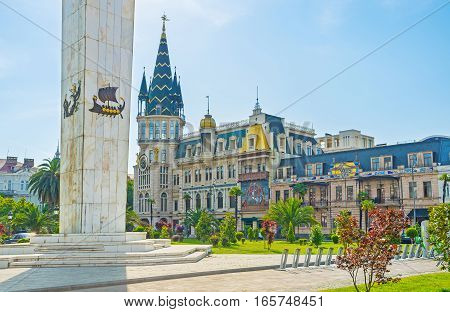 The Towers Of Batumi