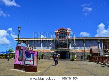 Cityscape Of Port Louis, Capital Of Mauritius