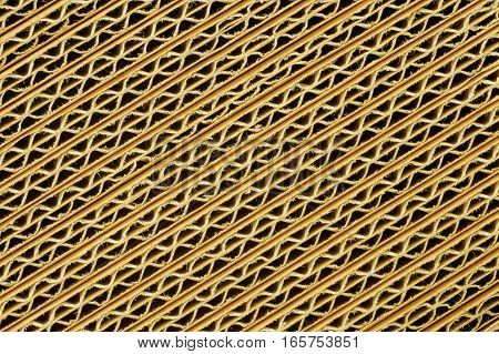 Yellow cardboards - a background or texture
