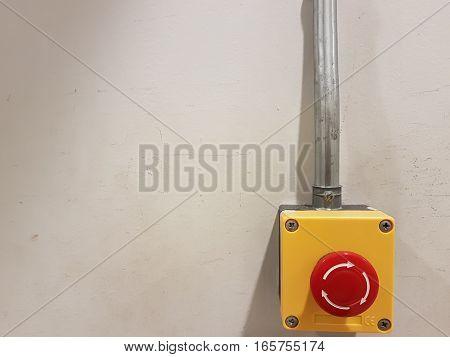 emergency botton on write wall, Emergency Help button
