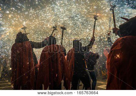 Correfoc Festes Major Gracia 2016