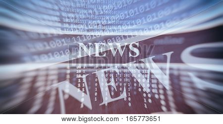online news concept. Abstract Technology background. Abstract