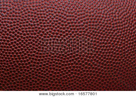 Detailed macro of american football poster