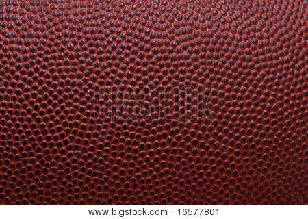 detaillierte Makro des american-football