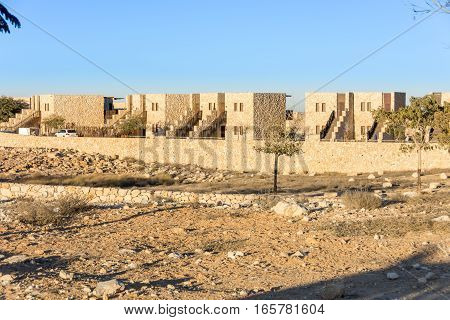 Hotel Beresheet (genesis) In The Israel Negev Desert