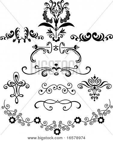 Ornaments 1 Vector Illustration