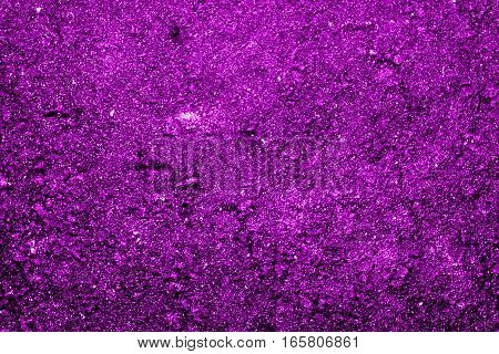 Texture of the soil, soil texture, nature background, lilac soil, purple abstraction, grunge nature background, very bright, ground