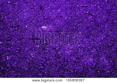 Texture of the soil, soil texture, nature background, violet soil, blue abstraction, grunge nature background, very bright, ground