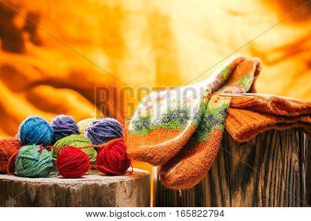 471878 Socks And Wool Yarn