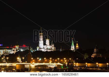 Church And Towers Of The Kremlin