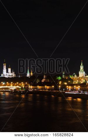Church And Towers Of Kremlin