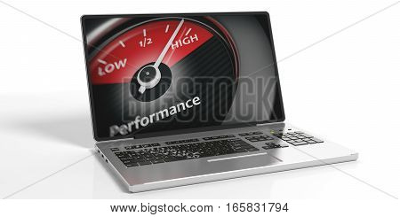 3D Rendering High Performance Concept