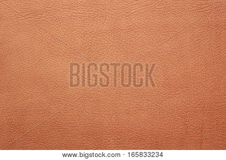 Brown leather texture closeup background. Structured background design nubuk